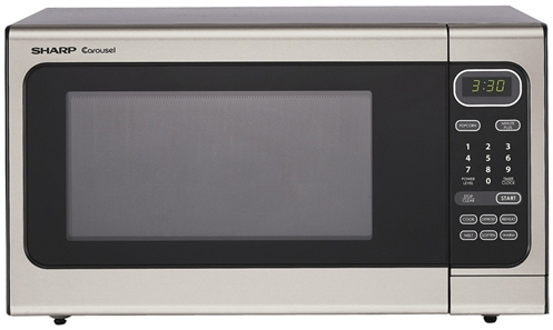 Sharp Mikroovn - Sølv mikrobølgeovn