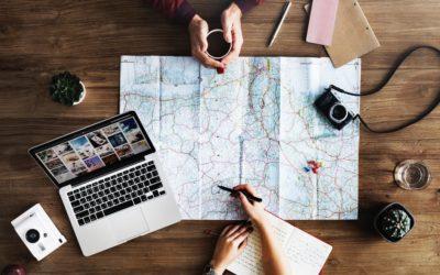 Planlægning af backpacker rejse